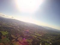 ニセコ上空 ニセコアンヌプリの麓 バルーン空撮