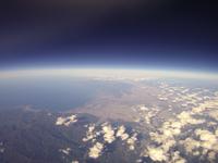 札幌市のバルーン空撮 空知平野と超えて旭川・富良野まで撮影 02740000086| 写真素材・ストックフォト・画像・イラスト素材|アマナイメージズ
