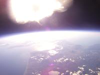 高高度から撮影した北海道西部 函館から苫小牧周辺まで 洞爺湖・支笏湖・羊蹄山を撮影 02740000093| 写真素材・ストックフォト・画像・イラスト素材|アマナイメージズ