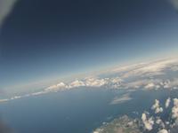 小樽水族館近辺を雲の上から空撮 バルーンによる撮影