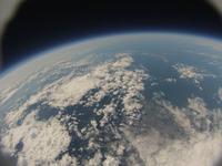 札幌市銭函近辺を高高度から見下ろす 風船宇宙撮影