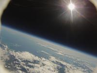 道南地区を風船で宇宙撮影 苫小牧から青森県までが写り込む 室蘭の湾口や洞爺湖も写る