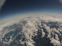 大空から見下ろす北海道の大地