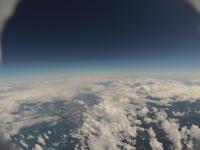 大地に広がる雲海と隠れる都市