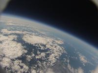 風船カメラがとらえた宇宙と地球 北海道上空 ふうせん宇宙撮影