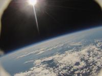 高高度気球から撮影した地球と宇宙 アースウォッチング