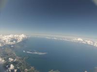 夏の日本海 バルーンによる空撮 ふうせん宇宙撮影