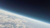 地球と宇宙の境界から見下ろした関東平野 スペースバルーンより 02740000277| 写真素材・ストックフォト・画像・イラスト素材|アマナイメージズ