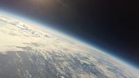 地球と宇宙の境界から見下ろした関東平野 スペースバルーンより 02740000281| 写真素材・ストックフォト・画像・イラスト素材|アマナイメージズ