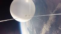 成層圏を飛行するバルーンと宇宙