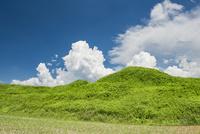 新原・奴山古墳群2 02742000388| 写真素材・ストックフォト・画像・イラスト素材|アマナイメージズ
