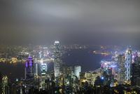 香港 夜景 ヴィクトリアピーク