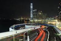 香港 夜景 市内風景