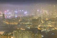 香港 夕景 クーロンピーク