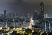 香港 夜景 ガーデンヒル