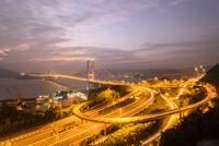 香港 夜景 青馬大橋