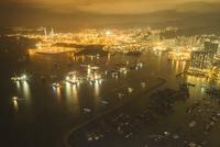 香港 夜景 スカイ100香港展望デッキ