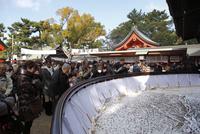 住吉大社の初詣風景