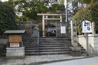 正月の堀越神社