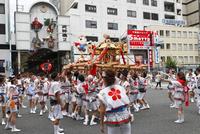 天神祭の神輿