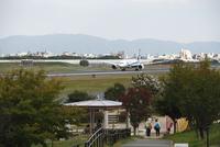 伊丹スカイパークと旅客機