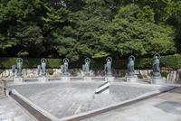 花山院菩提寺 幸せの七地蔵尊