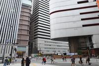 梅田の阪急東交差点