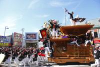 岸和田だんじり祭 やりまわし