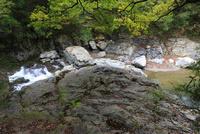 摂津峡公園 八畳岩
