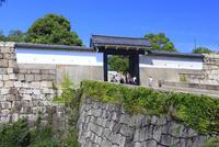 大阪城の桜門