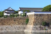 大阪城の大手門 千貫櫓と多聞櫓