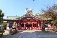 玉造稲荷神社の拝殿