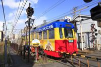 阪堺電車 松虫停留場付近