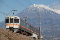 富士山と身延線