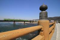 宇治橋から奈良線