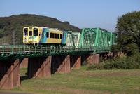 鉄橋 平成筑豊鉄道 遠賀川