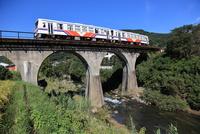 松浦鉄道 有形文化財のアーチ橋
