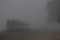 霧の米坂線