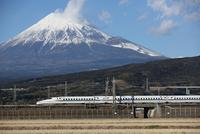 新幹線 富士山と東海道新幹線