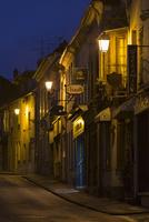 夕暮れ時のモレの街