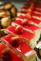苺のケーキ フランス