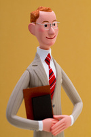 書類を持った誠実なビジネスマン 02788000011| 写真素材・ストックフォト・画像・イラスト素材|アマナイメージズ