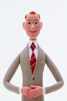 こちらを見る誠実なビジネスマン 02788000012| 写真素材・ストックフォト・画像・イラスト素材|アマナイメージズ