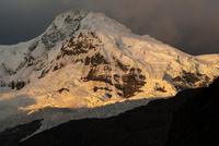 ワスカラン国立公園のワンツァン峰