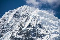 ワスカラン国立公園のワンツァン峰の山頂部