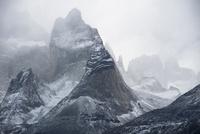パタゴニア・パイネ国立公園のクエルノ峰
