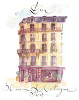パリのディオール建物