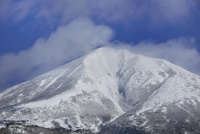 磐梯山 冬