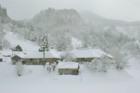 奥会津の雪景色