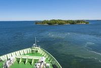オーランド諸島からストックホルムへのクルージング 02818000005| 写真素材・ストックフォト・画像・イラスト素材|アマナイメージズ